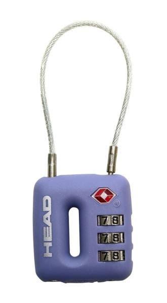 Candado con cable TSA